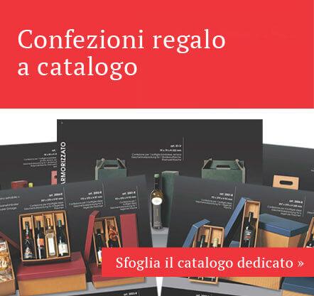Confezioni regalo a catalogo