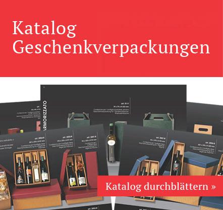 Kataloghaltige Geschenkpackungen