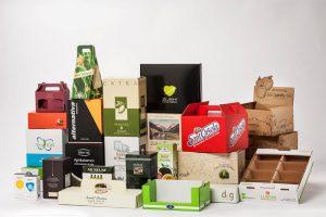 Auslagen und verschiedene kundenspezifische Schachteln